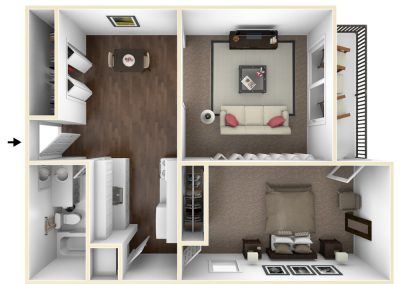Beal 1 Bedroom