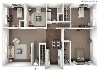 Cedarview East 3 bedroom