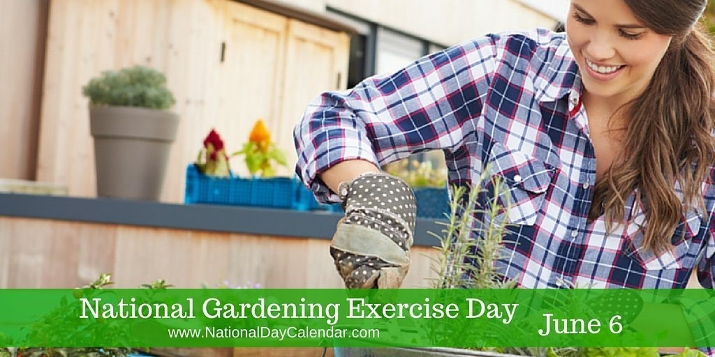 NATIONAL GARDENING EXERCISE DAY